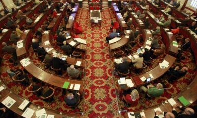 Vermont House-Senate conference over marijuana taxes and provisions gets interrupted by seat-belt laws and demands from a coalition of different organization.