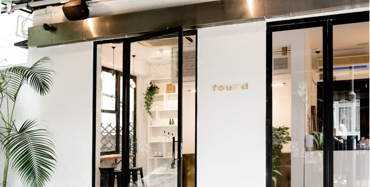 Found is a CBD cafe recently inaugurated in Hong Kong.