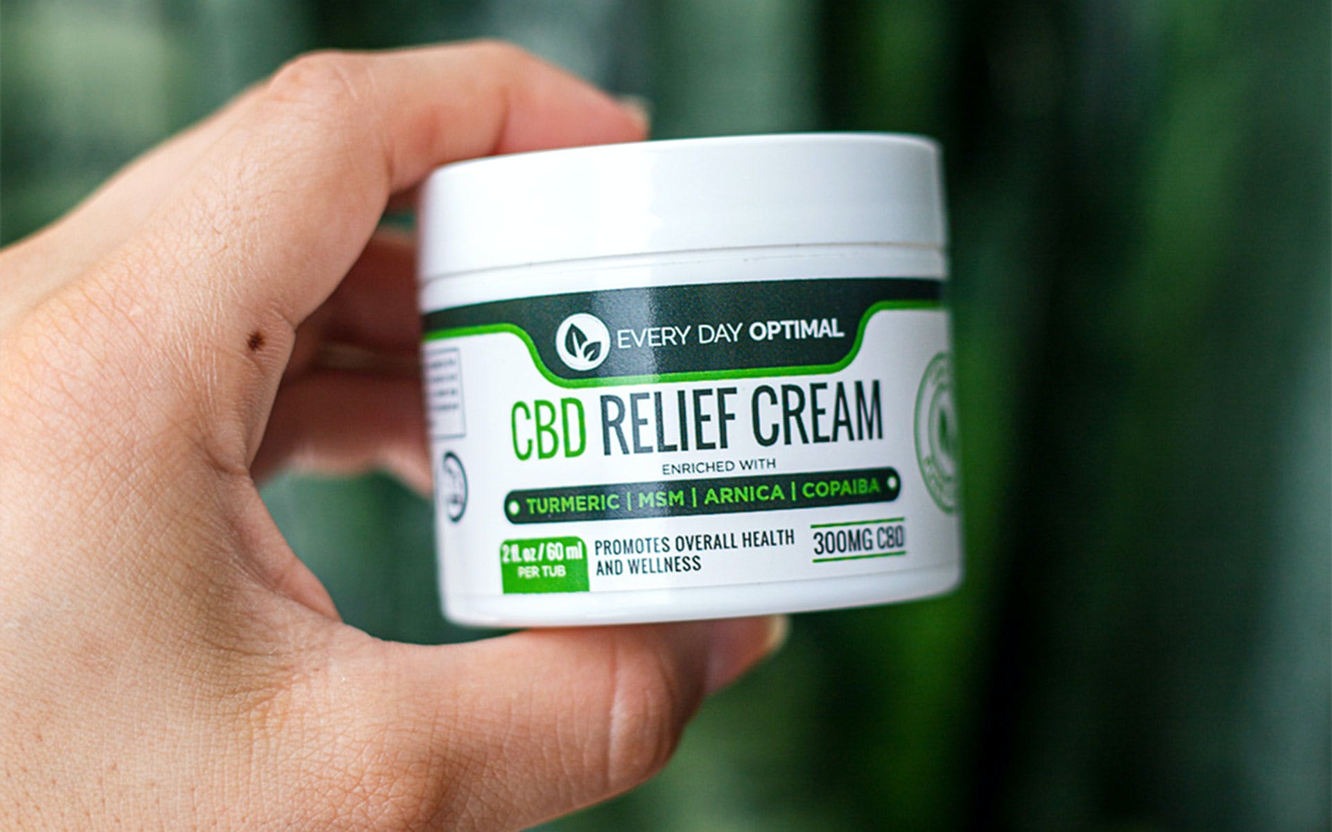 CBD as pain reliever