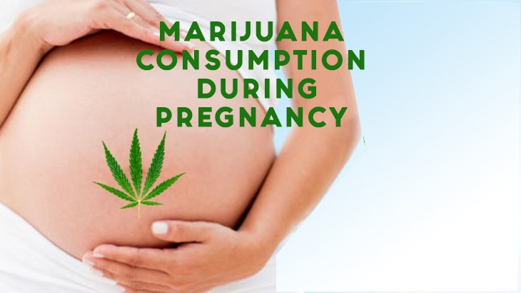Affect of smoking cannabis on infant's brain