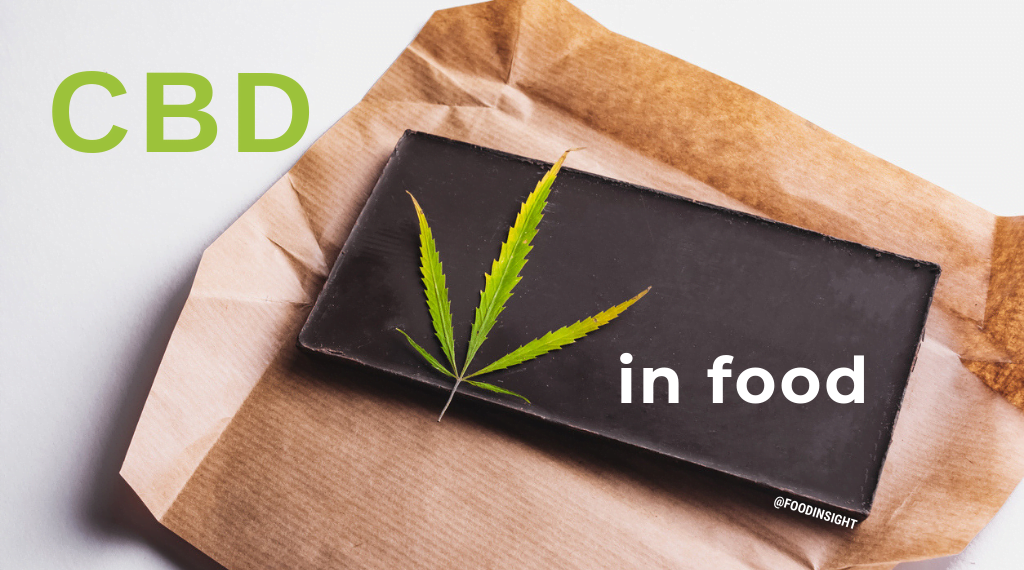 Cannabis in food and drinks