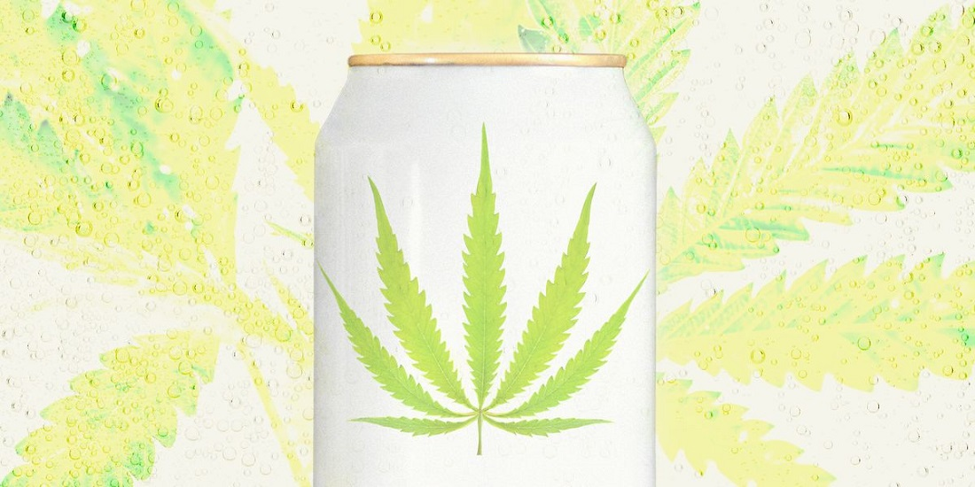 Marijuana alcoholic drink