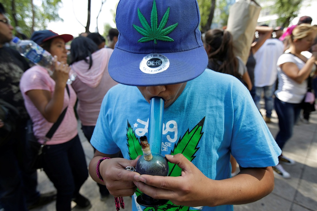 Marijuana use rise in teens